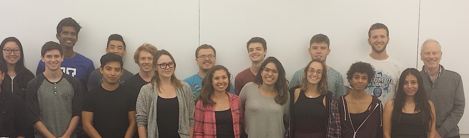 Photo of Spring 2017 UCLA SETI class